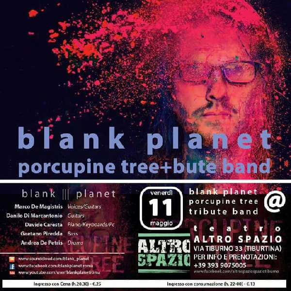 I Blank Planet  tribute band  Porcupine Tree