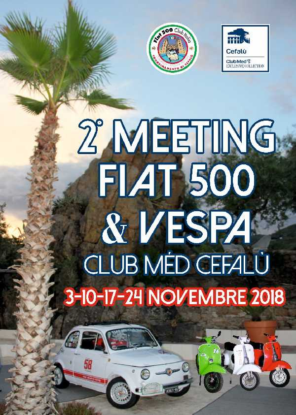 2 Meeting 500 & Vespa Club Mèd Cefalù