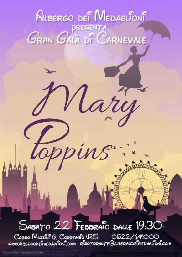 Mary Poppins in pillole...