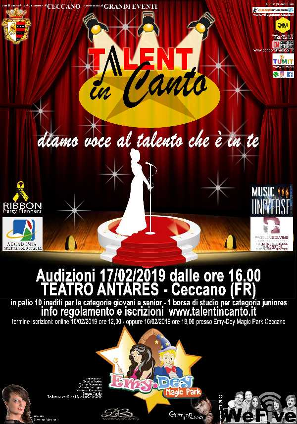 Talent in Canto 2019